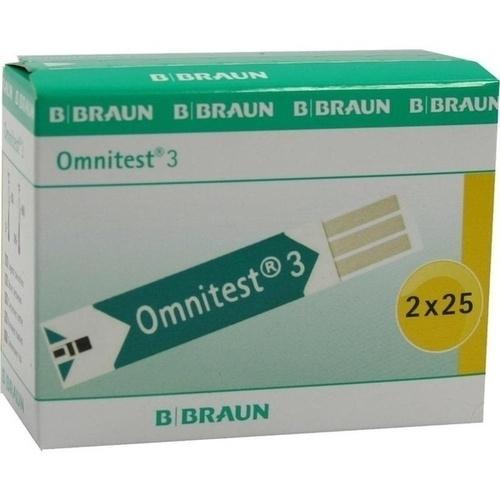 OMNITEST 3 Blutzucker Sensoren Teststreifen