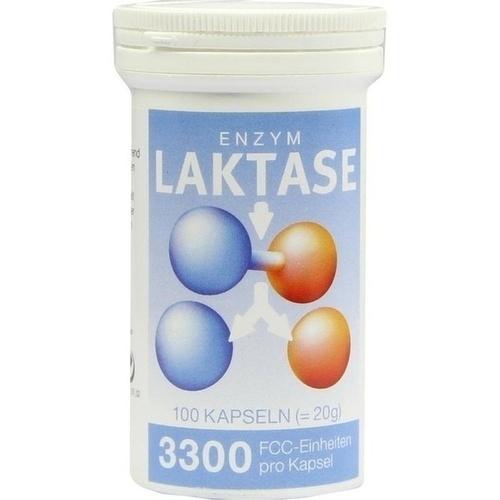 LAKTASE 3.300 FCC Enzym Kapseln 100 St.