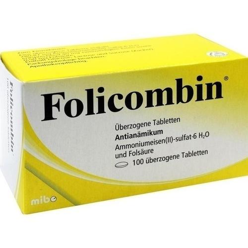 FOLICOMBIN überzogene Tabletten