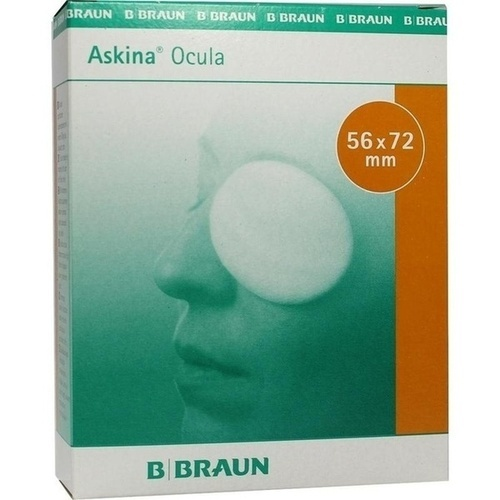 ASKINA Ocula Augenkompr.56x72 mm steril