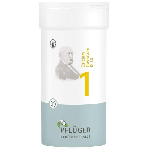 BIOCHEMIE Pflüger 1 Calcium fluor.D 12 Tabletten