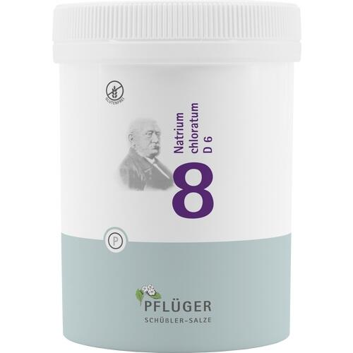 BIOCHEMIE Pflüger 8 Natrium chloratum D 6 Tabl.