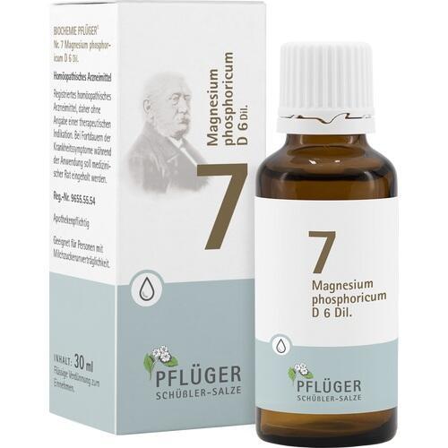 BIOCHEMIE Pflüger 7 Magnesium phosphoricum D 6 Tro