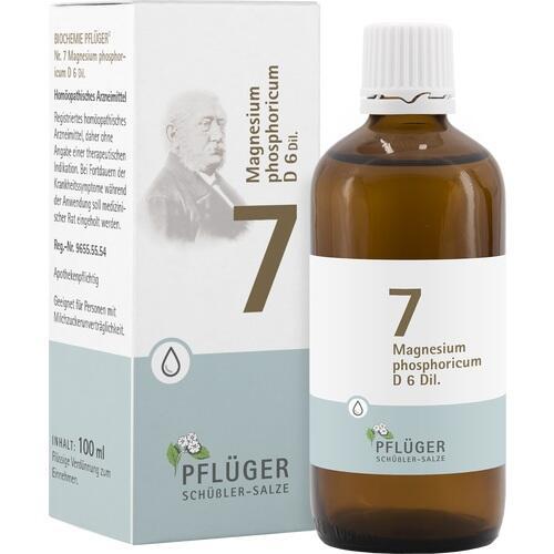 BIOCHEMIE Pflüger 7 Magnesium phos.D 6 Tropfen