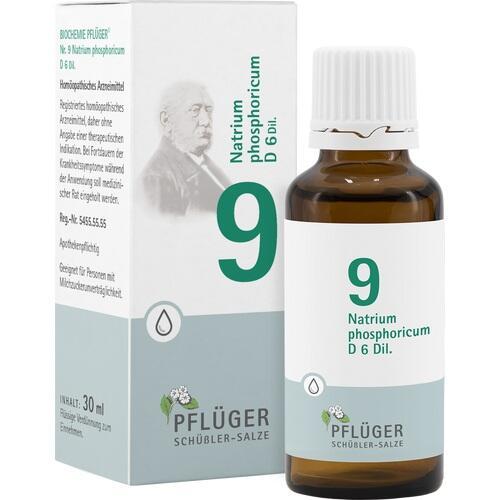 BIOCHEMIE Pflüger 9 Natrium phosph.D 6 Tropfen