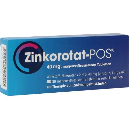 ZINKOROTAT POS magensaftresistente Tabletten