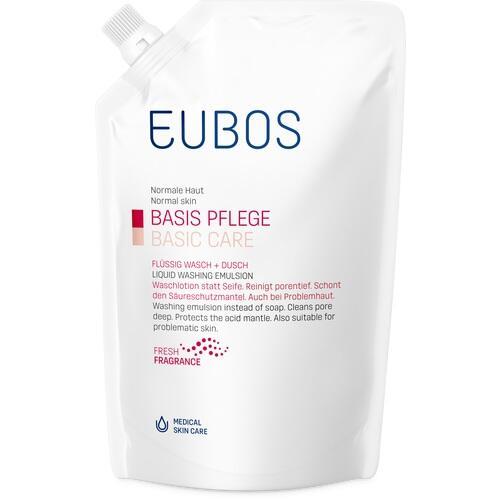 EUBOS FLÜSSIG Wasch+Dusch rot Nachfüll
