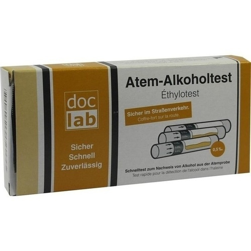 ALKOHOLTEST Atem 0,5 ‰ 3 St