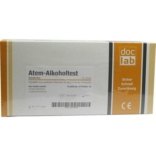 ALKOHOLTEST Atem 0,5 ‰ 10 St