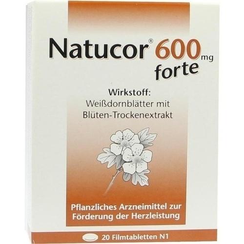 NATUCOR 600 mg forte Filmtabletten