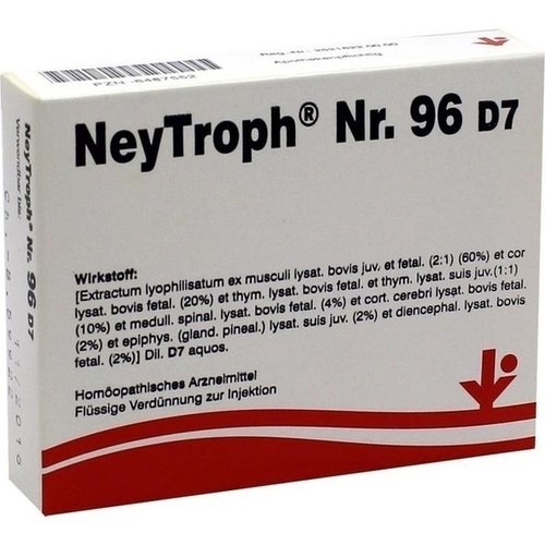 NEYTROPH Nr.96 D 7 Ampullen