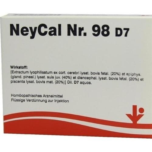 NEYCAL Nr.98 D 7 Ampullen