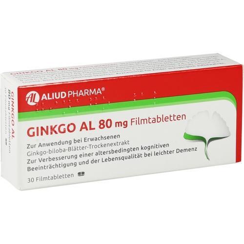 GINKGO AL 80 mg Filmtabletten