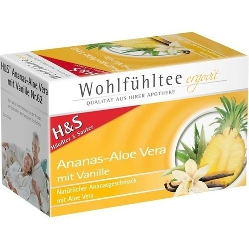 H&S Ananas Aloe Vera Filterbeutel
