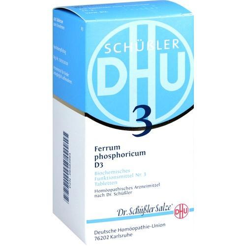 biochemie dhu 3 ferrum phosphoricum d 3 tabletten 420 st sch ler salze dhu marken. Black Bedroom Furniture Sets. Home Design Ideas