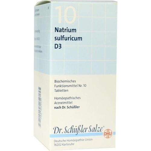 BIOCHEMIE DHU 10 Natrium sulfuricum D 3 Tabletten