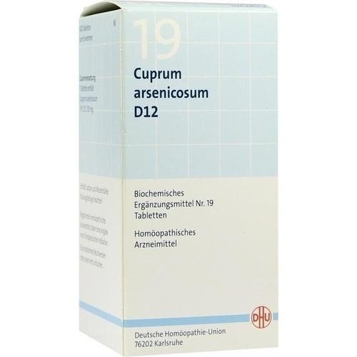 BIOCHEMIE DHU 19 Cuprum arsenicosum D 12 Tabletten