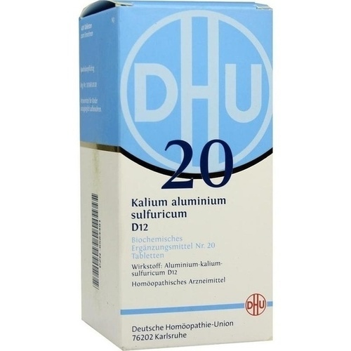 BIOCHEMIE DHU 20 Kalium alum. sulfur. D 12 Tabletten