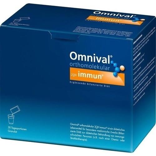 OMNIVAL orthomolekul.2OH immun 30 TP Granulat