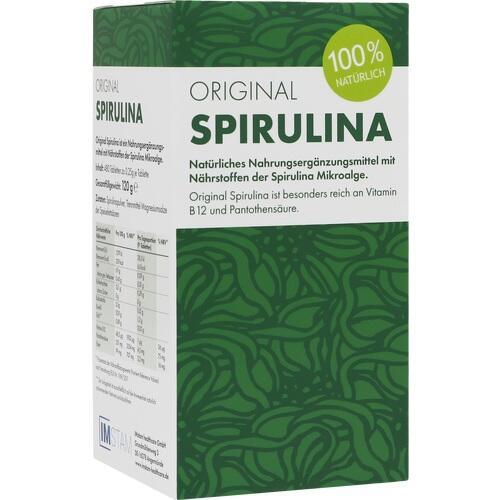 ORIGINAL SPIRULINA Tabletten 480 St.