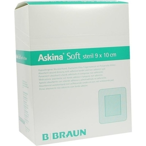ASKINA Soft Wundverband 9x10 cm steril