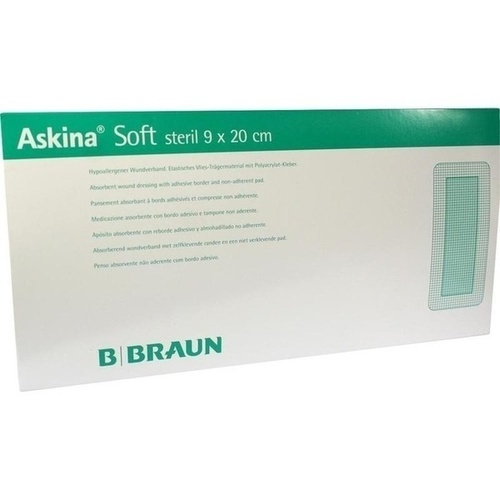 ASKINA Soft Wundverband 9x20 cm steril