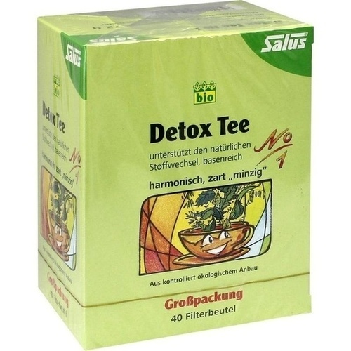 detox tee nr 1 kr utertee salus filterbeutel 40 st detox medicon shop. Black Bedroom Furniture Sets. Home Design Ideas