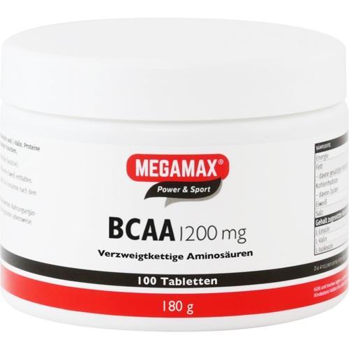BCAA 1.200 mg Megamax Tabletten