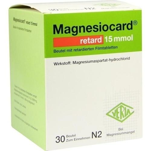 MAGNESIOCARD retard 15 mmol Beutel m.ret.Filmtabl.