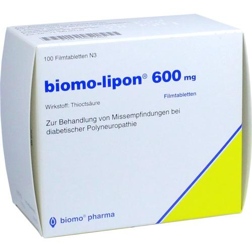 BIOMO LIPON 600 tablete filmate