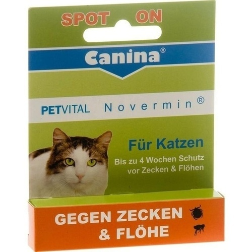 PETVITAL Novermin flüssig f.Katzen