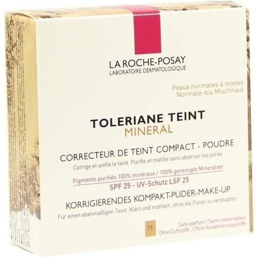 roche posay toleriane teint mineral puder 11 9 g make up. Black Bedroom Furniture Sets. Home Design Ideas