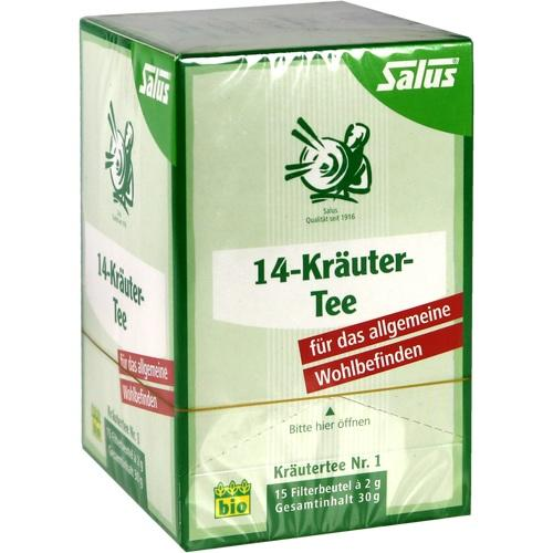 14-KRÄUTER-Tee Kräutertee Nr.1 Salus Filterbeutel
