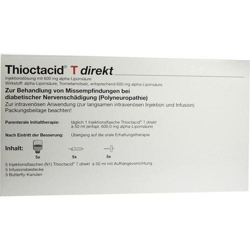 THIOCTACID T Direkt + Zubehör Injektionslösung