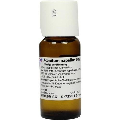 ACONITUM NAPELLUS D 12 Dilution