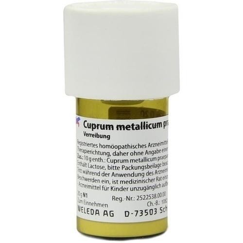 CUPRUM METALLICUM praep.D 20 Trituration