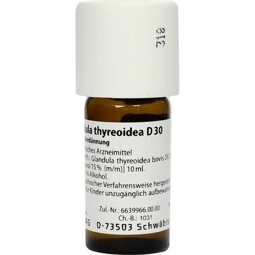 GLANDULA THYREOIDEA D 30 Dilution
