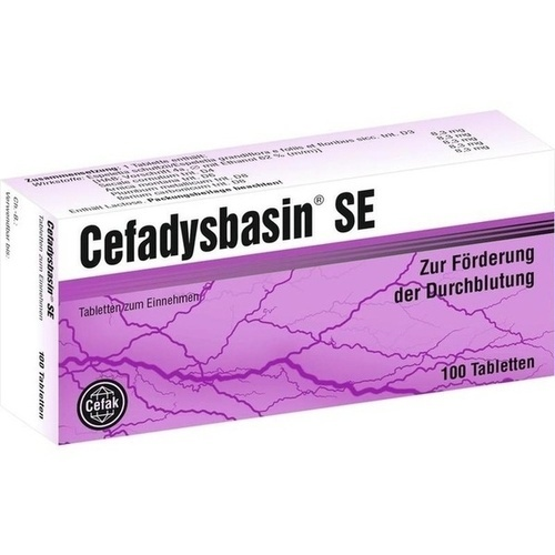CEFADYSBASIN SE Tabletten