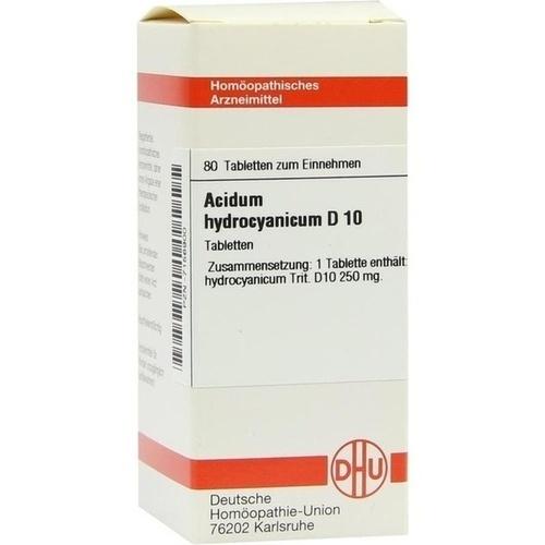 ACIDUM HYDROCYANICUM D 10 Tabletten