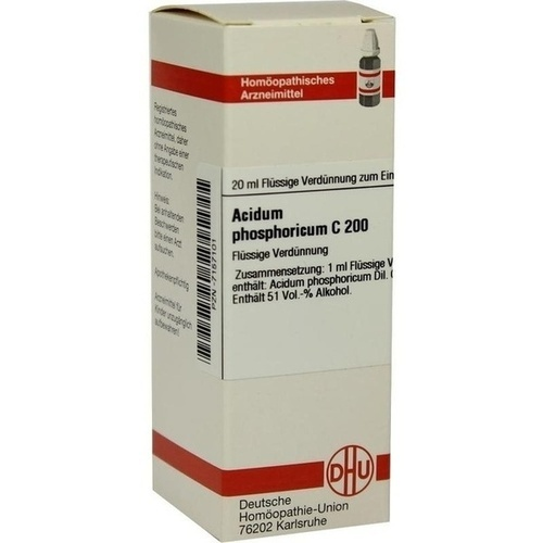 ACIDUM PHOSPHORICUM C 200 Dilution