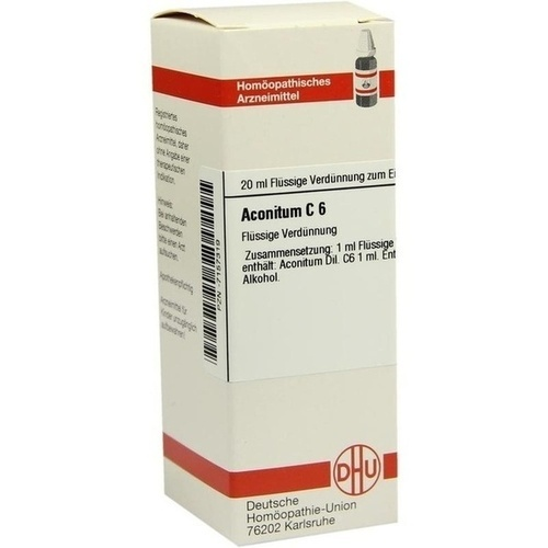 ACONITUM C 6 Dilution