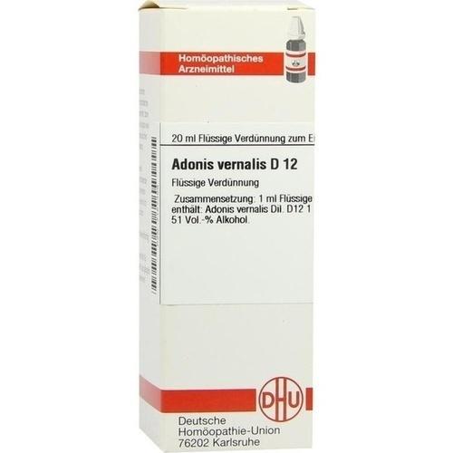 ADONIS VERNALIS D 12 Dilution