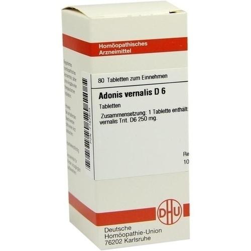 ADONIS VERNALIS D 6 Tabletten