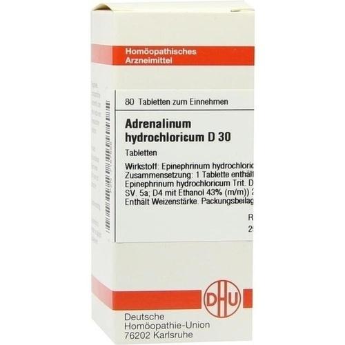 ADRENALINUM HYDROCHLORICUM D 30 Tabletten