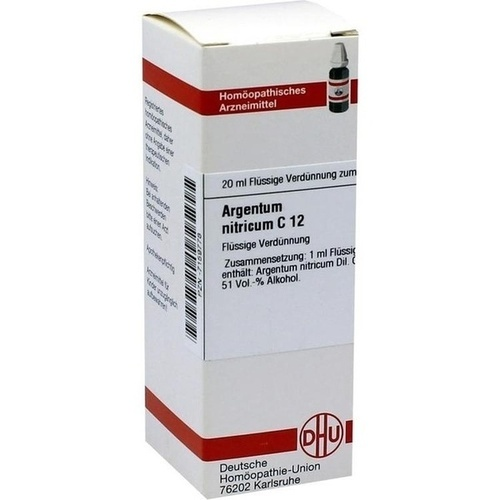 ARGENTUM NITRICUM C 12 Dilution