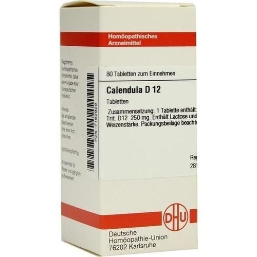 CALENDULA D 12 Tabletten