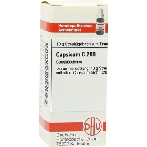 CAPSICUM C 200 Globuli