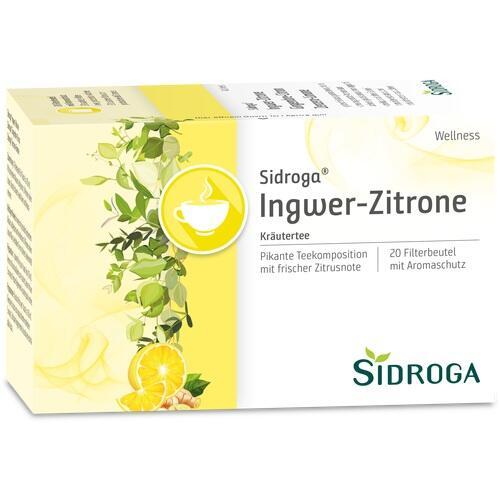 SIDROGA Wellness Ingwer-Zitrone Tee Filterbeutel