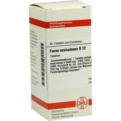FUCUS VESICULOSUS D 12 Tabletten