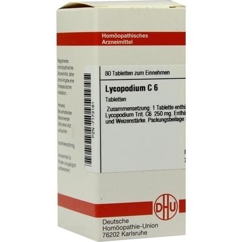 LYCOPODIUM C 6 Tabletten